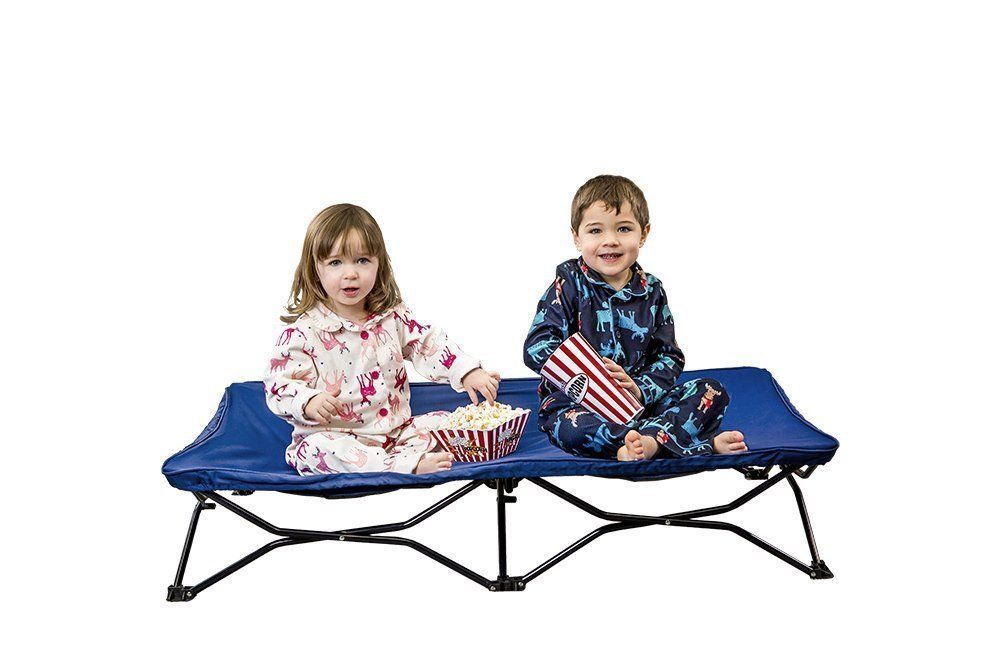 Regalo My Cot Portable Toddler Bed Includes Fitted Sheet and Travel Case Royal for sale online
