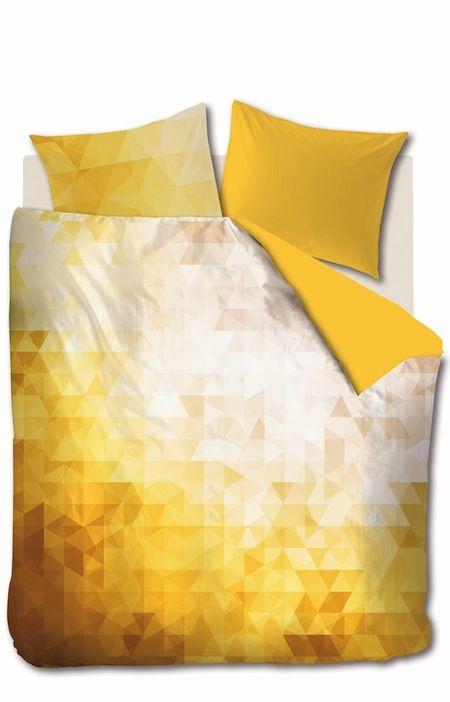 Fragment Yellow Bettwäsche Auping Design Auping House Beds