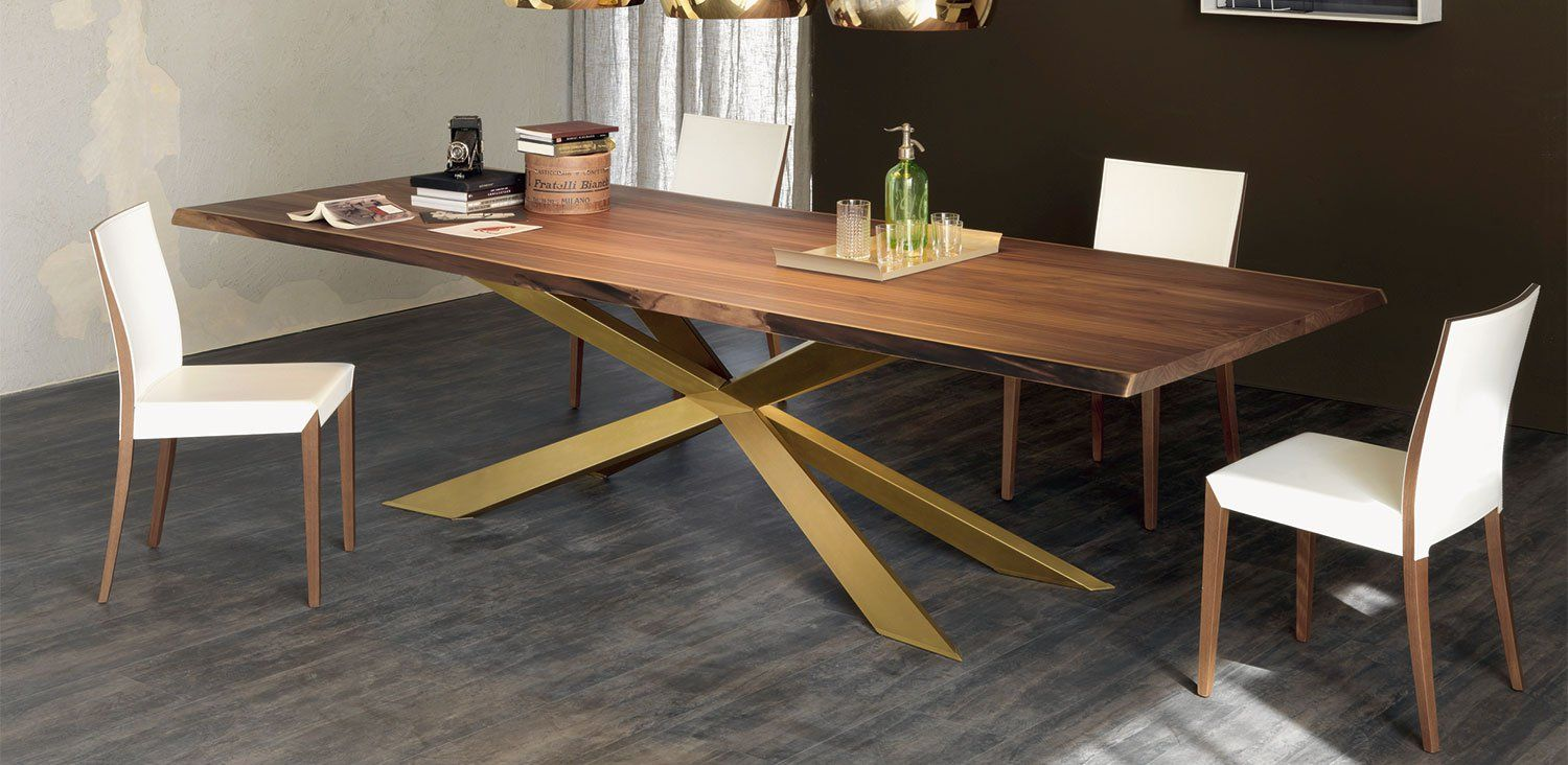 Spyder Wood Dining Table Wooden