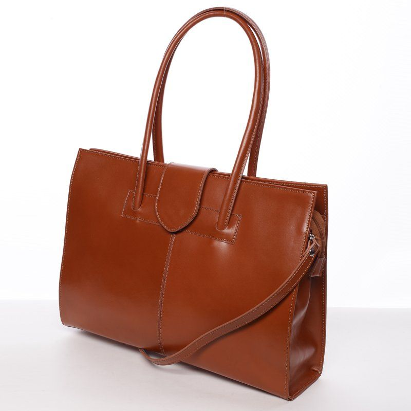 221364299d Decentní dámská kožená kabelka.  demixcz  kabelka  kůže  móda  fashion
