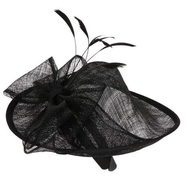 Sinamay Hat Fascinator #fascinatorstyles