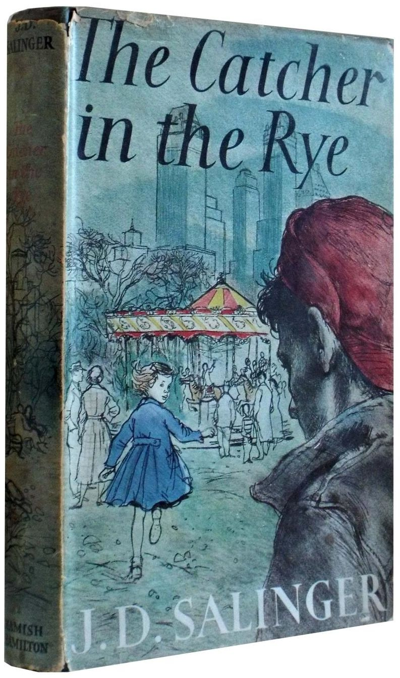 Books And Art Books Holden Caulfield Catcher In The Rye