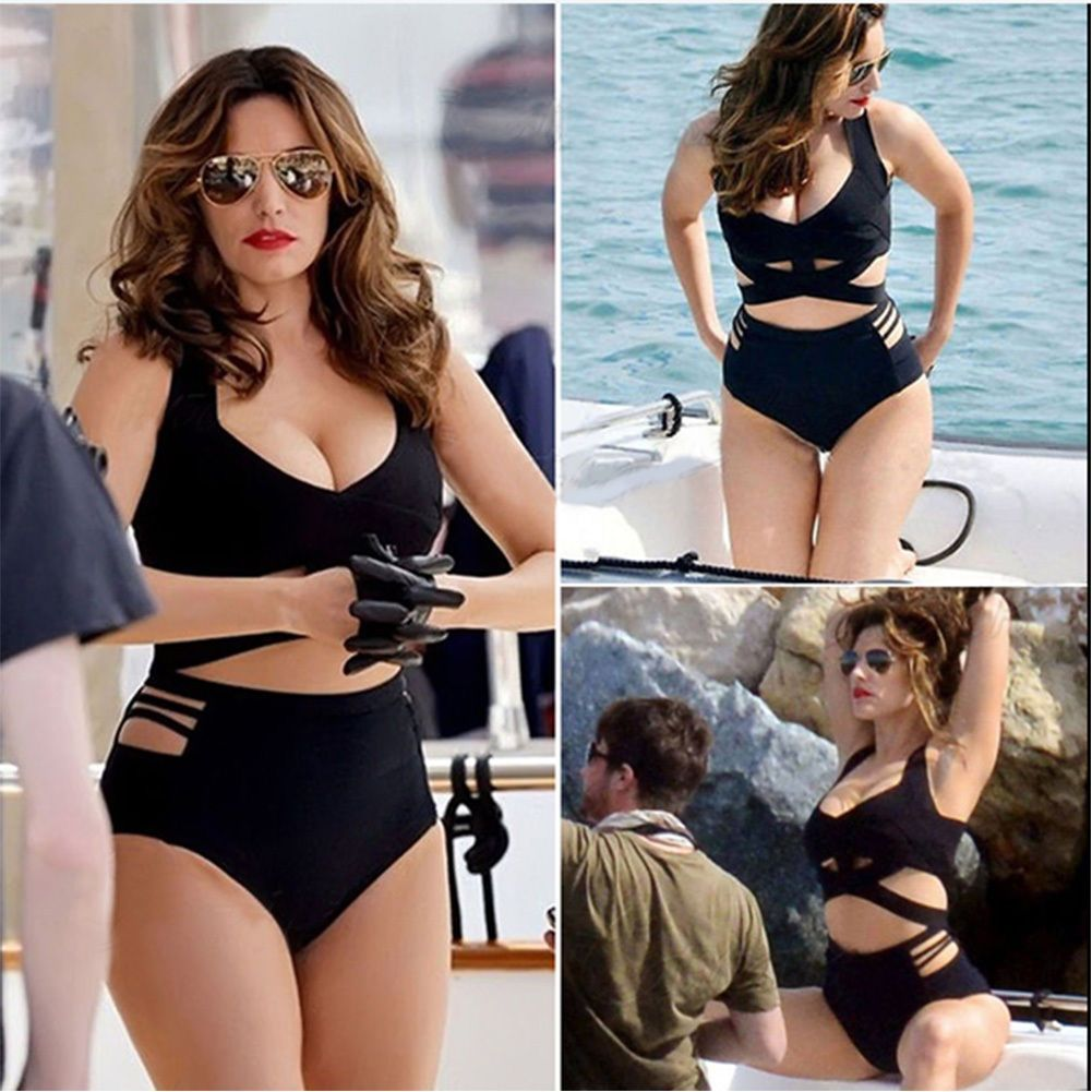 578b540a82fbe Women Plus Size Bandage Swimsuit Bathing Suit Swimwear Two-Piece Bikinis Set