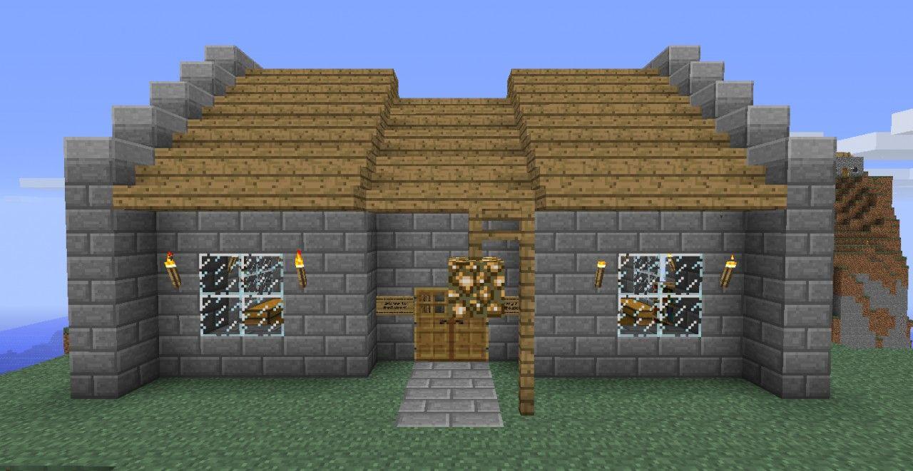 Minecraft Stone Brick House Minecraft Map Minecraft House