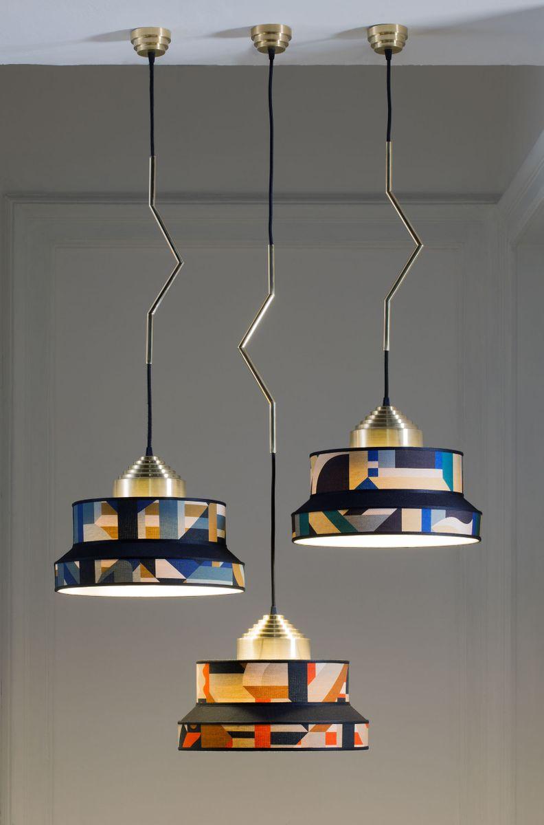 Aperitivo Pendant Lamp 2 In Blue By Servomuto Lamp Design Pendant Lamp Lamp
