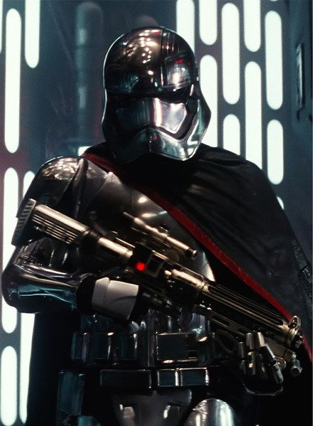 the Star Wars chrome suit was an early design for Adam Driver's black-clad character Kylo Ren.
