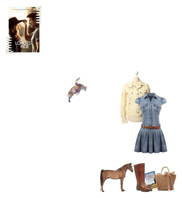 """""""The Longest Ride"""" by fashionqueen76 ❤ liked on Polyvore featuring Belstaff, Vince Camuto, movie and books"""