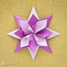 Resultado de imagen para estrellas de papel paso a paso