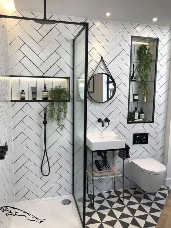 Bathroom Niche Ideas Built Ins Shelves Bathroom Niche Ideas Res In 2020 Contemporary Bathroom Inspiration Bathroom Design Small Modern Contemporary Bathroom Designs