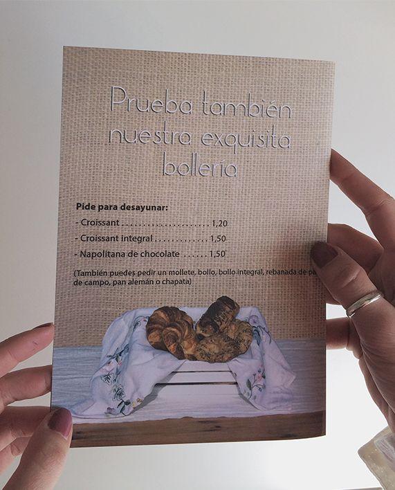 Carta de panes. Bread menu. #bakery #bread #restaurant @Sara González