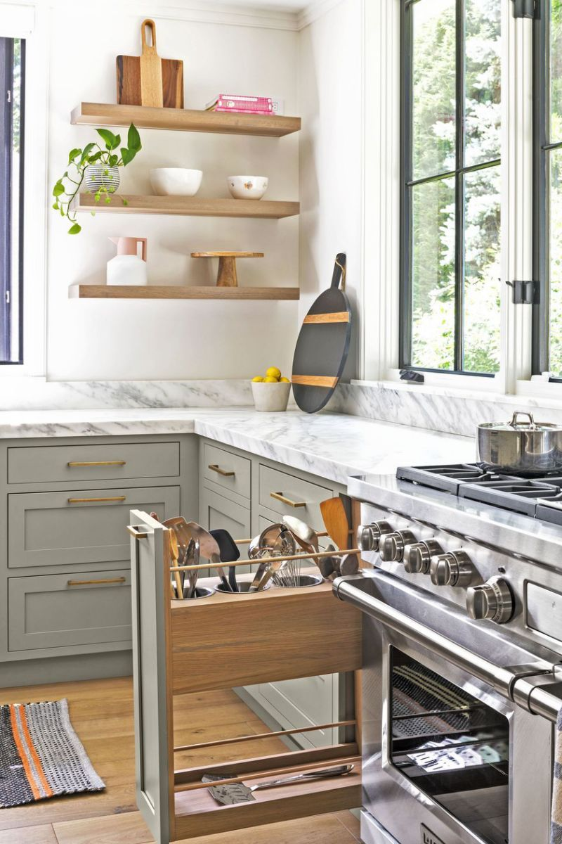 what it really takes to make a kitchen feel bright and airy kitchen cabinet storage elegant on kitchen organization elegant id=69430