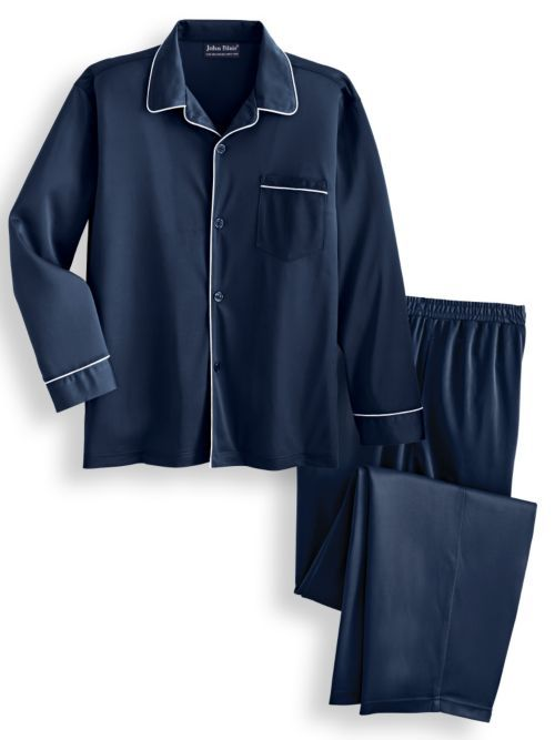 John Blair� Men's Tricot Pajamas - Men's Pajama Set   Blair   Mens pajamas  set, Mens pajamas, Clothes