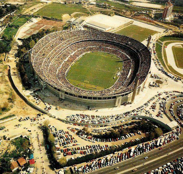 Estadio Da Luz Lisbon (19542003) Record attendance