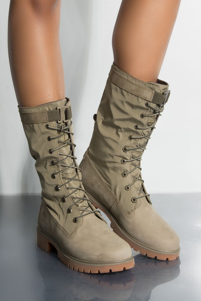 TIMBERLAND JAYNE WATERPROOF GAITER BOOTS | Boots, Combat