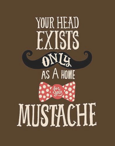 Its Movember!! Time to grow out the 'Stache... #movember #mens #health #mustache #month