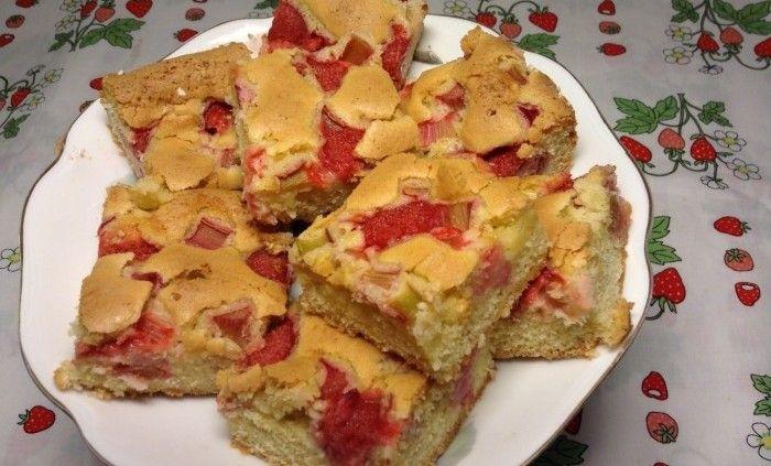 baka med jordgubbar recept