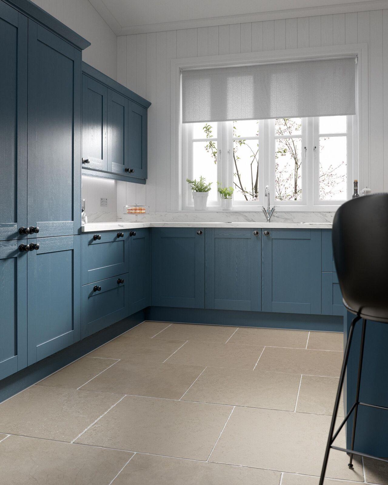 Shaker 5 Piece in Indigo Kitchen in 2020 Indigo kitchen