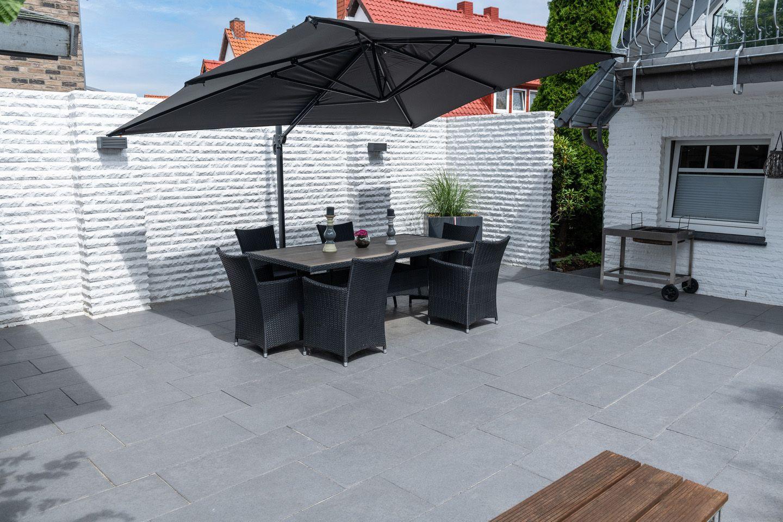 Cleane Moderne Grossformat Terrassenplatten Terrassenplatten Terassenideen Betonplatten