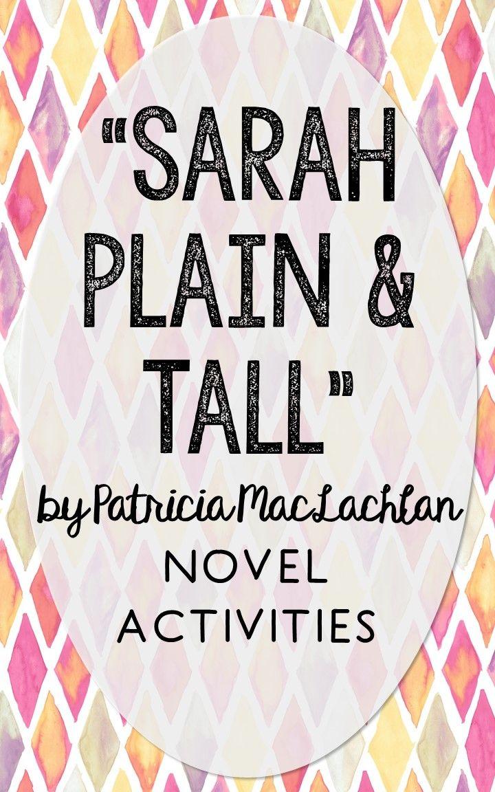 worksheet Sarah Plain And Tall Worksheets sarah plain and tall novel unit study activities book companion worksheets