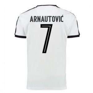 the latest 2fab8 6d66f austria national team 2016 jersey euro away white soccer ...