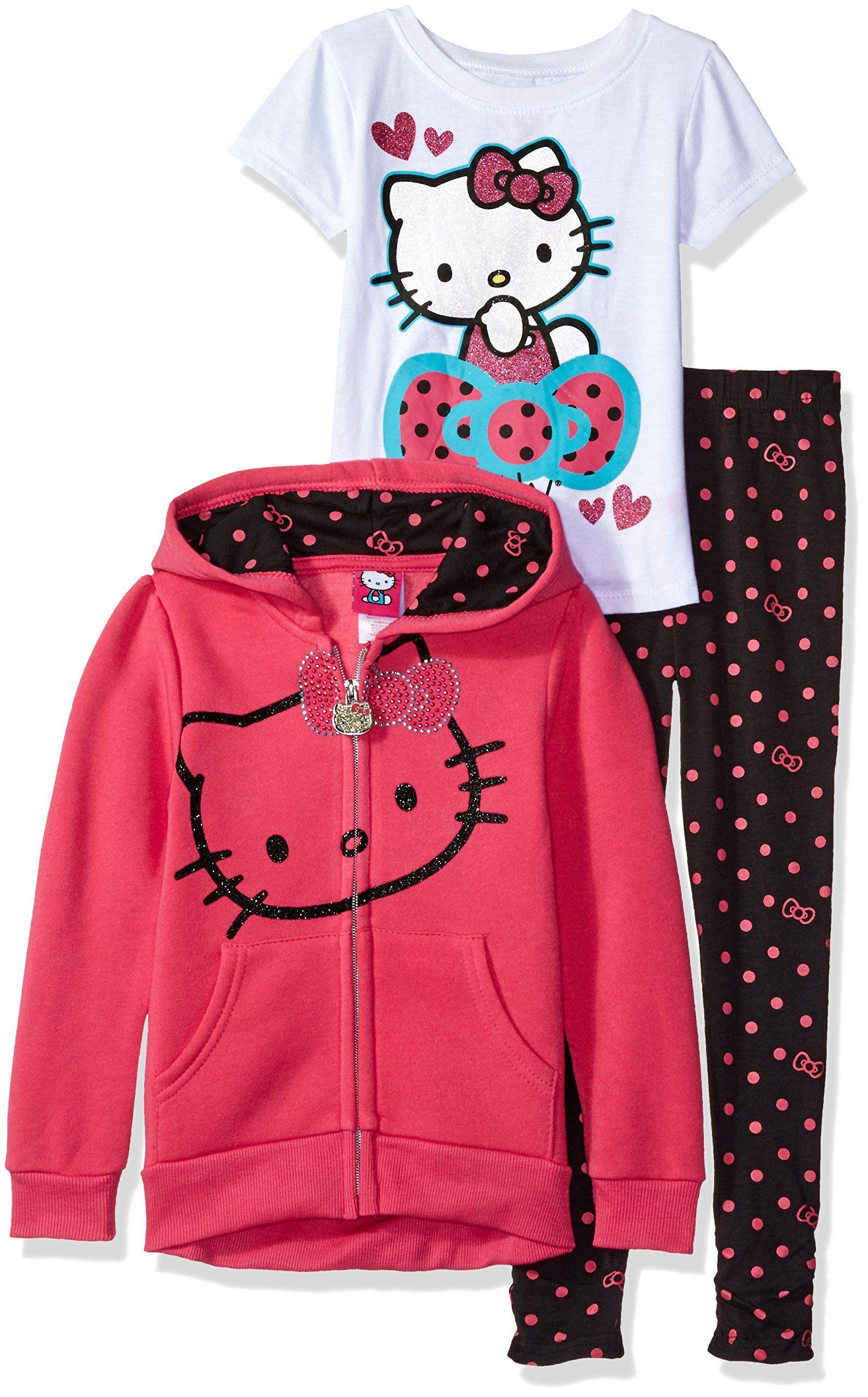 Hello Kitty Hooded Legging Set