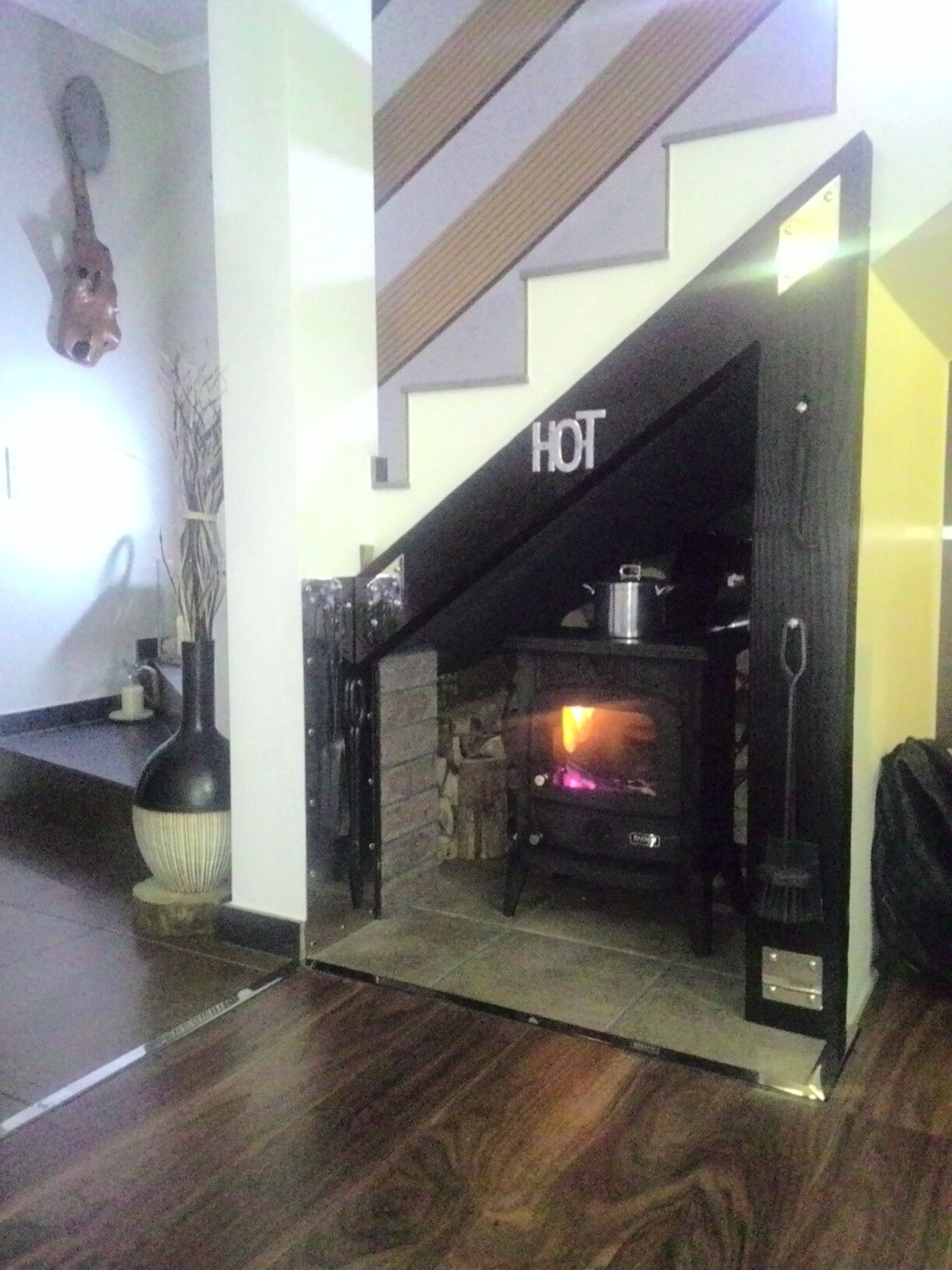 Kaminofen Lotus Test Wood Stove Under The Stairs Why Not Princess Cottage In