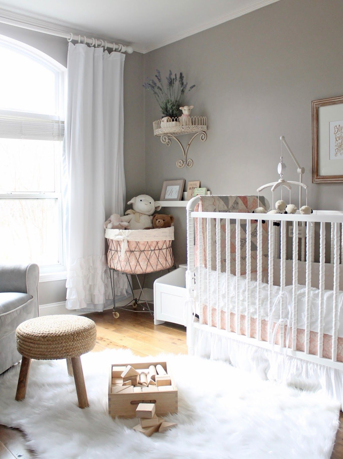12th And White A Peaceful Pretty Lamb Themed Nursery