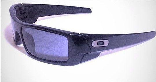 33c2cc6b813 Oakley GASCAN 03-473 Matte Black Frame with Gray Lens Sunglasses  Oakley