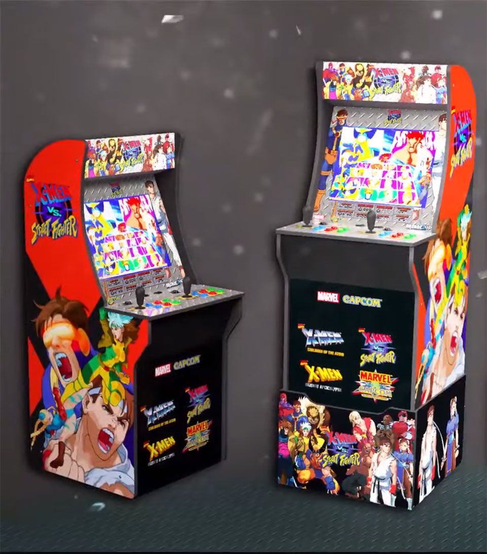 A New X Men Vs Street Fighter Arcade Machine For Your Living Room Has Been Unveiled In 2020 Arcade Street Fighter Arcade Marvel Vs Capcom