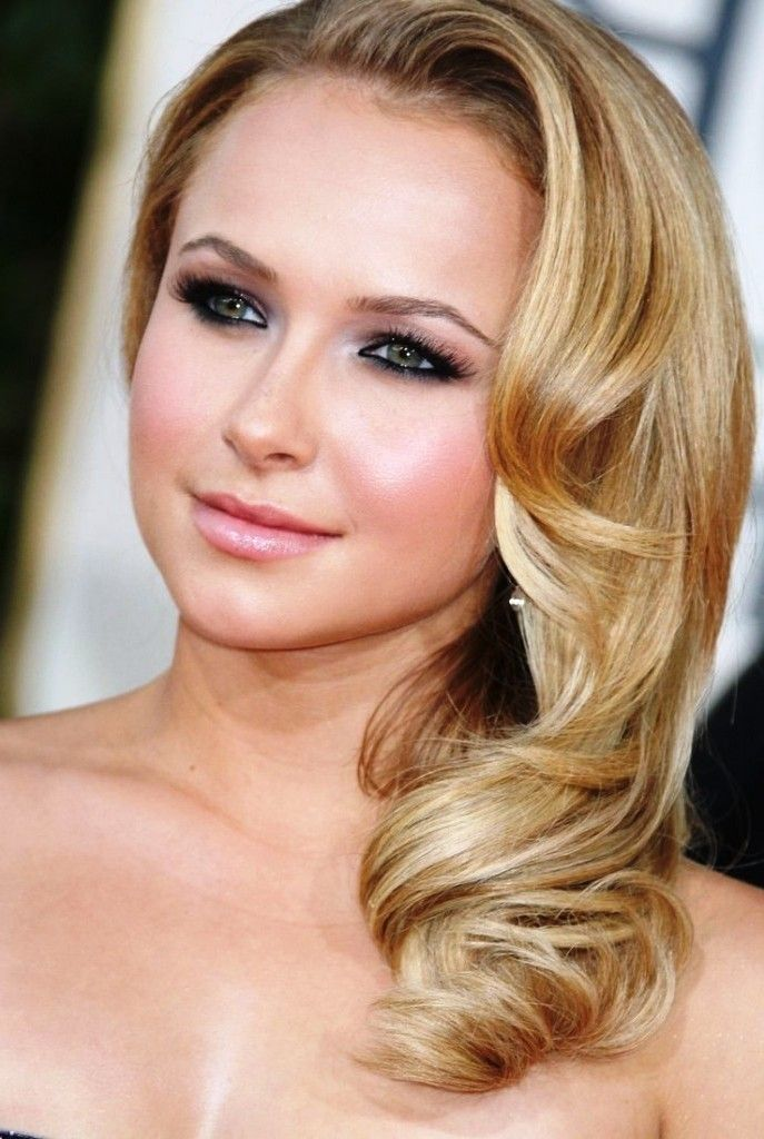 Side Swept Hairstyles For Medium Hair