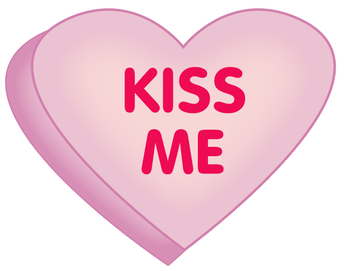 heart clip art | kiss-me-heart-clip-art | Photo booth | Pinterest ...