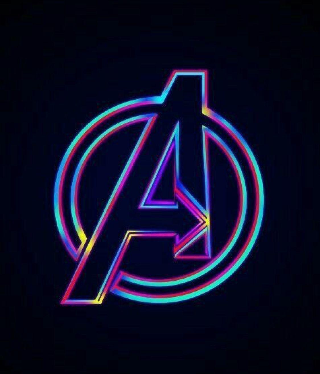 Avengers Logo Avengers Theme Marvel Wallpaper Avengers Wallpaper