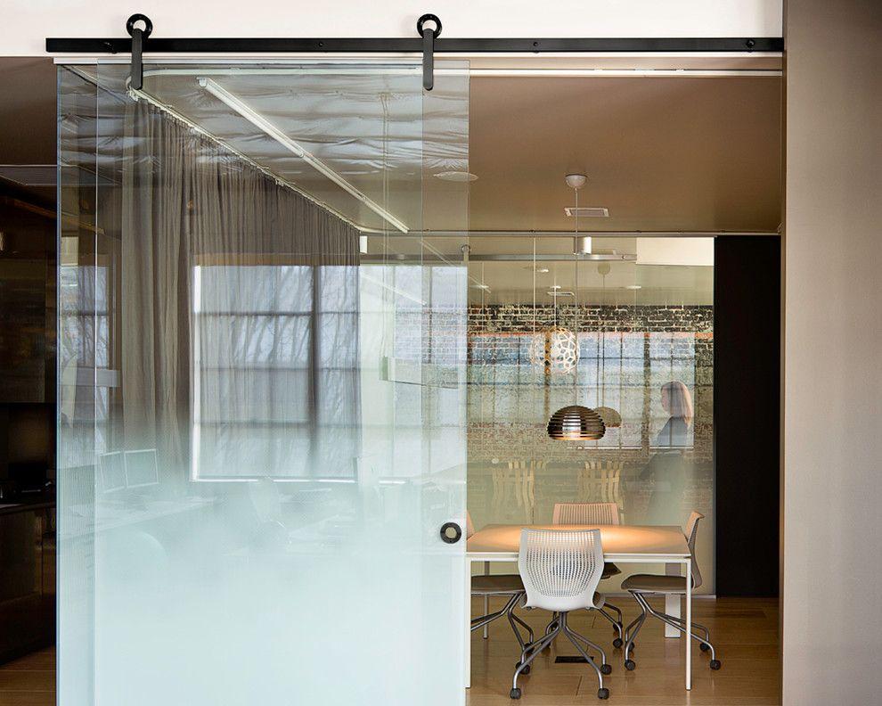 Glass Sliding Barn Door Interior Design Pinterest Barn Doors