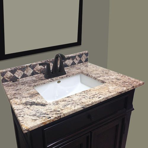 Imperial Impressions 61 Wide X 22 Deep Left Offset Vanity Top