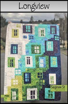 Longview, a Quilt Pattern by Saginaw St. Quilts