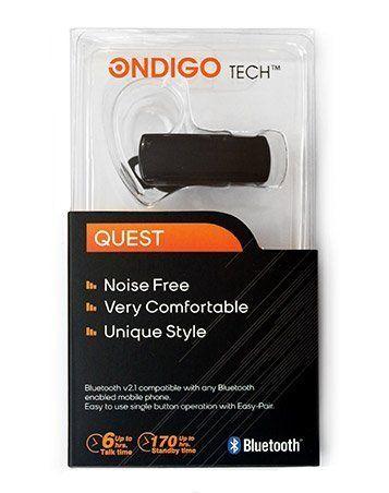 Ondigo Tech Bluetooth Headset Micro USB Charging Up to 6 Hours Talk