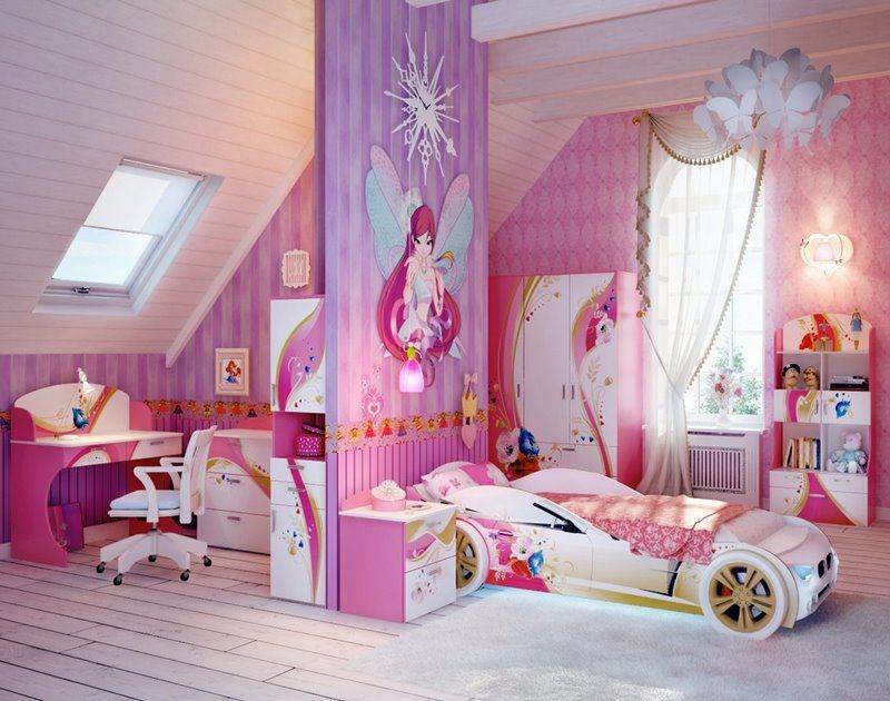 Charming Ideal Bedroom Designs For Teenager Girls