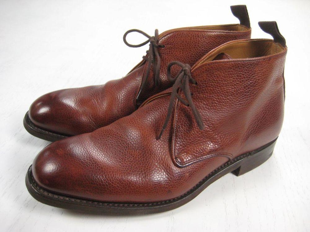 67ae77b15a5f Cheaney Jackie R III mahogany grain leather chukka boots size 10 ...