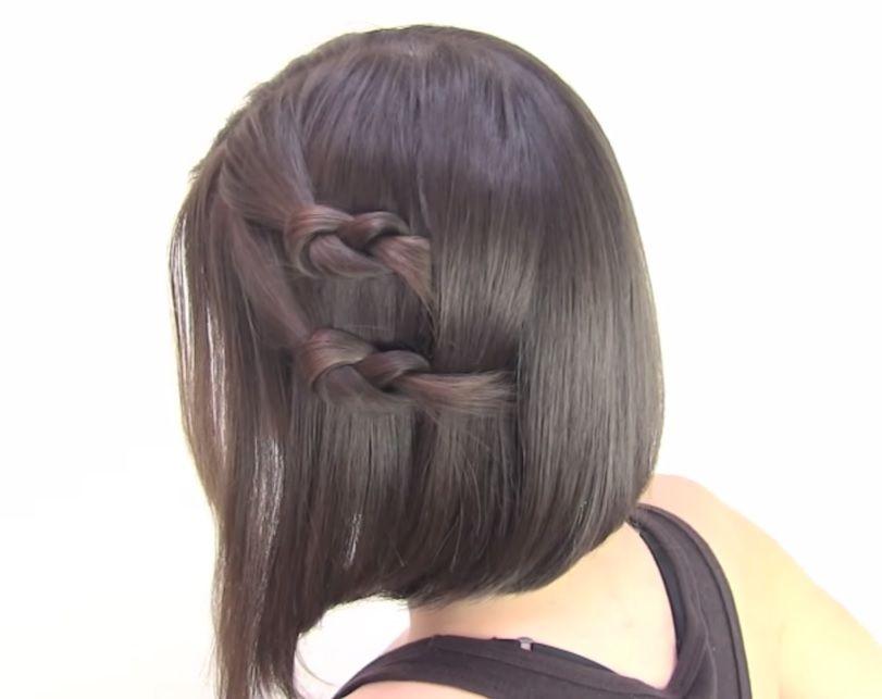 Como Hacer Peinados Faciles Para Cabello Corto Peinados