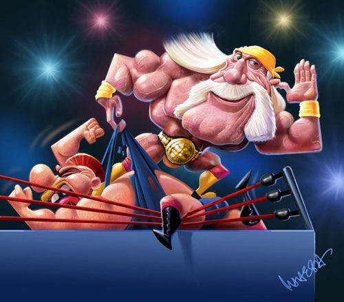 Hulk Hogan by Mahesh Nambiar