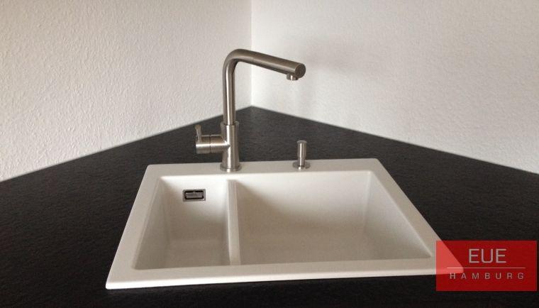 Spüle Mera 60 aus Keramik Feinsteinzeug von systemceram Höchste - villeroy und boch küchenarmaturen