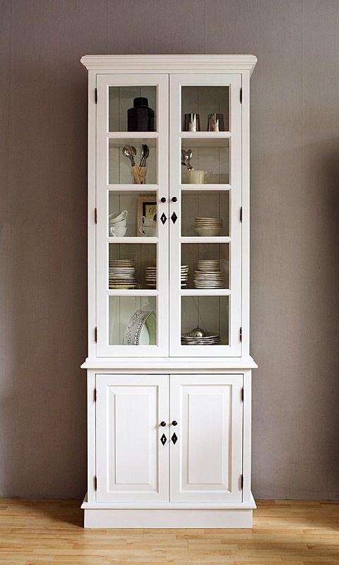 Vitrine Küchenschrank Deko-Salon Online Shop Ideen für die - küchenschrank mit glastüren
