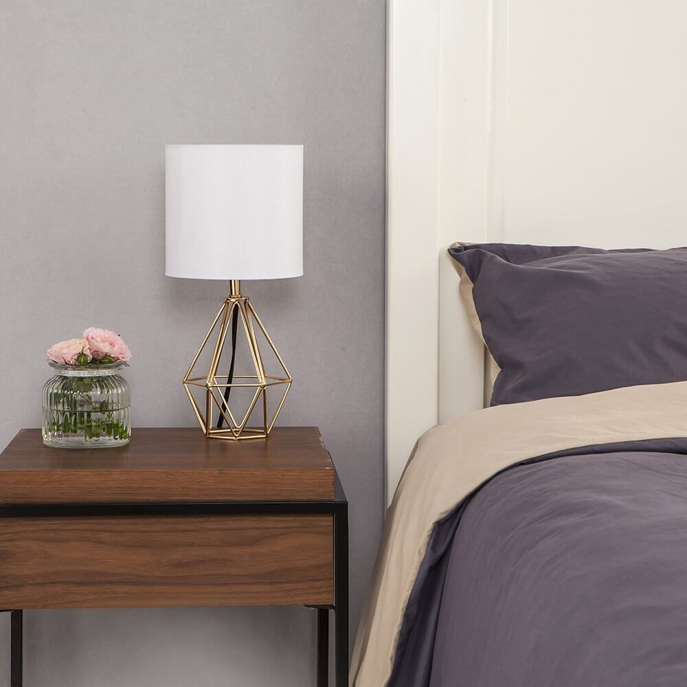 The 25 Best Bedside Table Lamps To Light Up Your Evenings Small Table Lamp Living Room Bedroom Bedside Lamp Small table lamp for bedroom