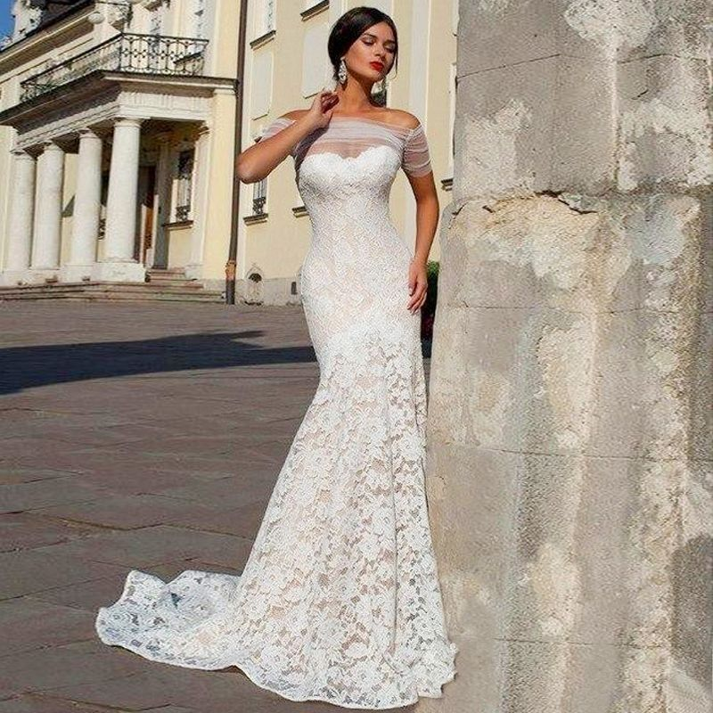 French Lace Mermaid Wedding Dress: 6-stunning-and-gorgeious-french-lace-wedding-dress-8