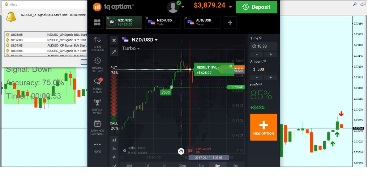 Watch A Live Stream Of Our Professional Trader Every Day In High