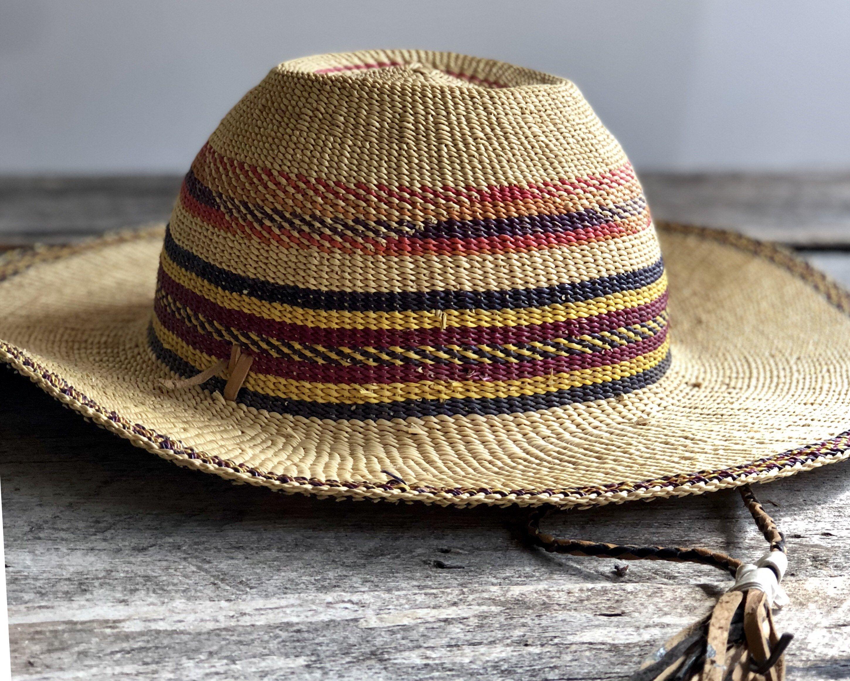 African Straw Hat Wide Brim Hat African Hat Beach Hat Sun Hat Gardening Hat Festival Hat Woven Hat Summer Hat Large Hat African Hats Wide Brim Hat Large Hats