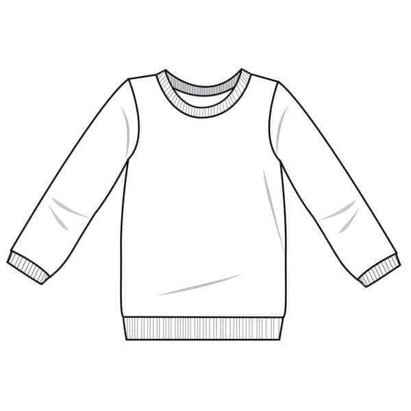 T-Shirt für Kinder - Freebook für Kurz- und Langarmshirts | Nähtalente