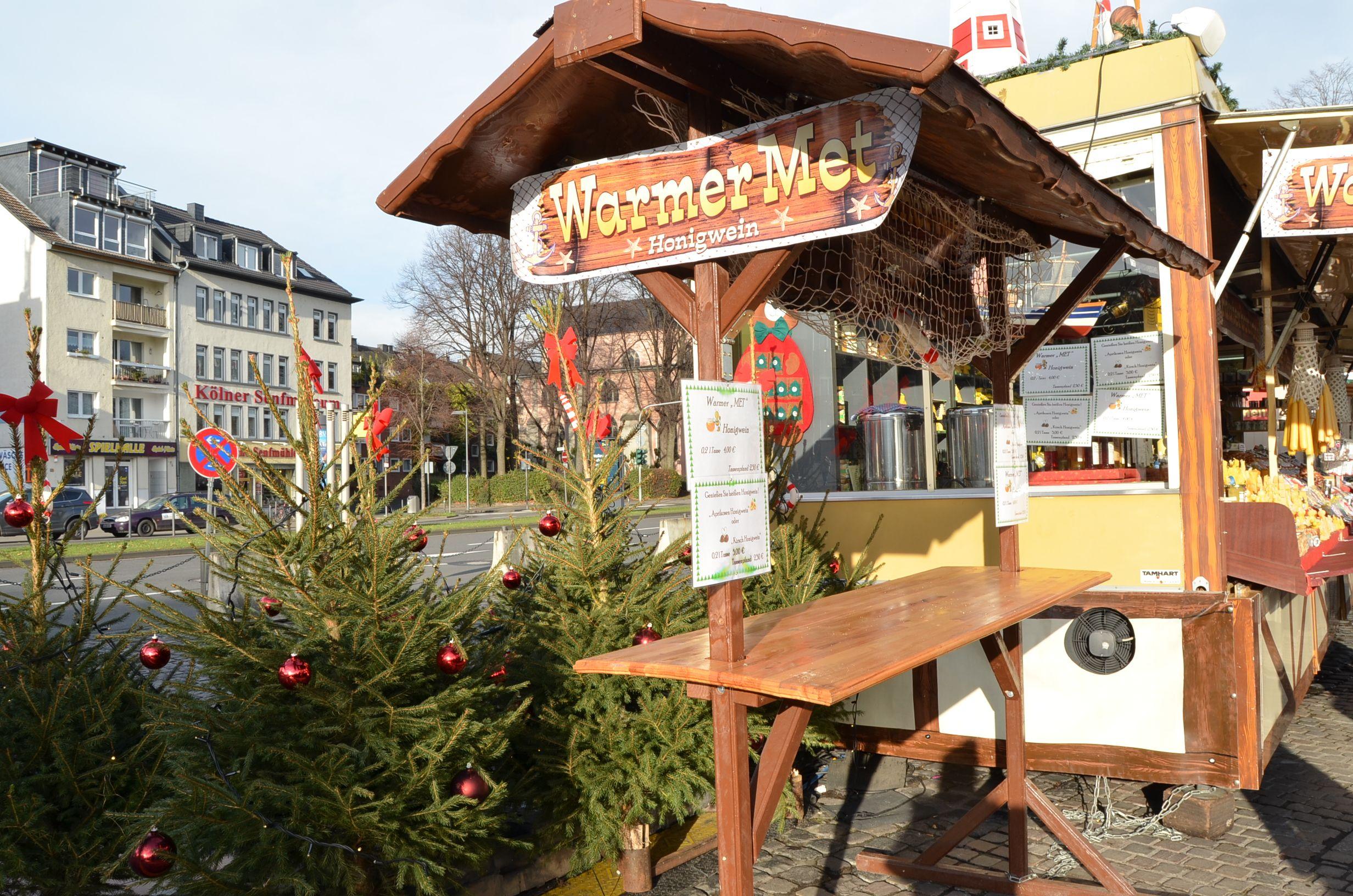 Mercado navideño Colonia