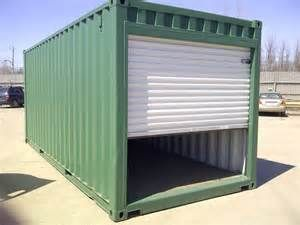 Container Garage Shipping Container Garage Steel Shipping Container Shipping Container Sheds Container House Shipping Container