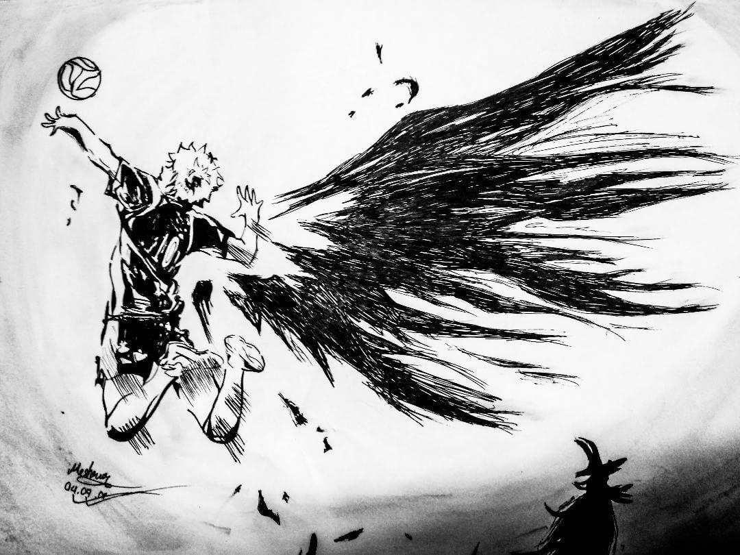 23 Likes 4 Comments Mashrur Rahman Mash Desu On Instagram Because People Don T Have Wings We Look For Ways T Haikyuu Anime Haikyuu Manga Otaku Anime